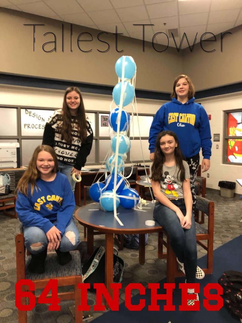 Balloon Tower Challenge