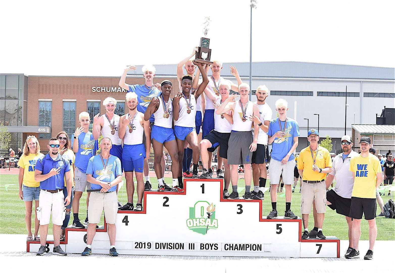 Boys Track Championship