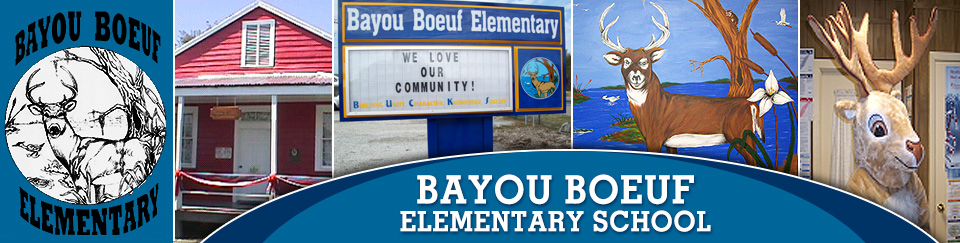 Header picture of Bayou Boeuf Elementary School