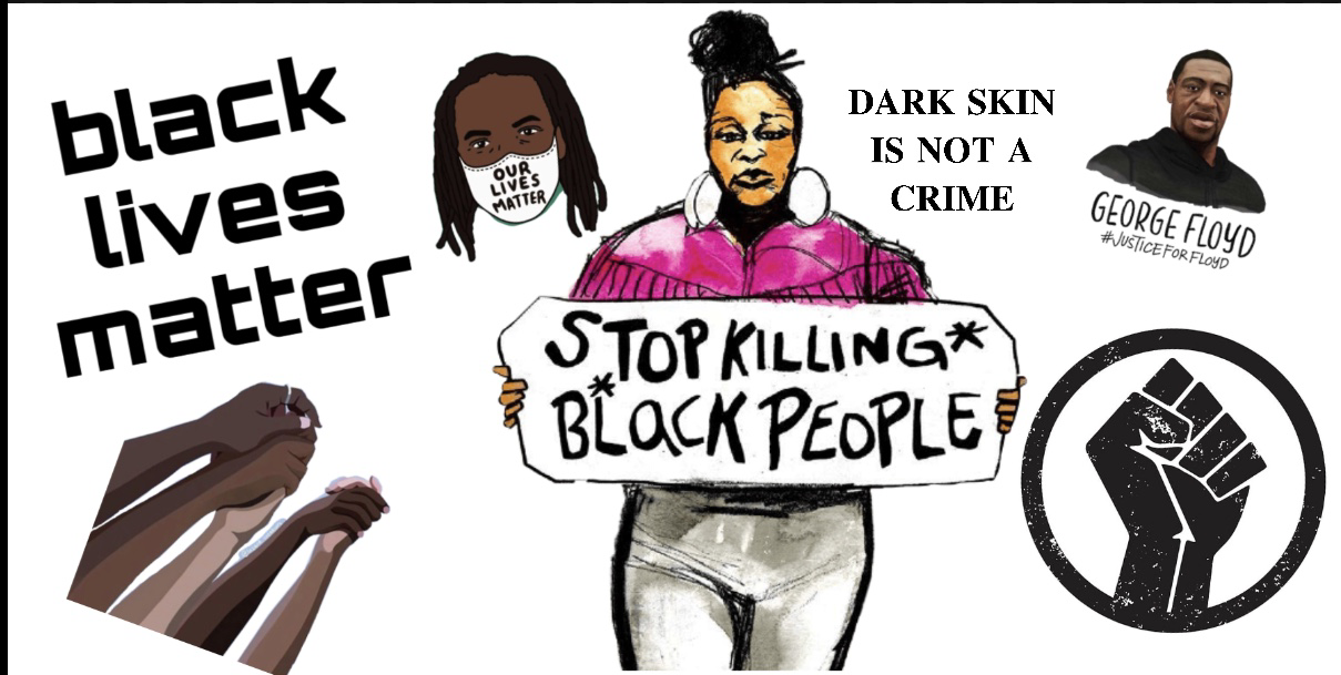 Stop Killing Black People Poster