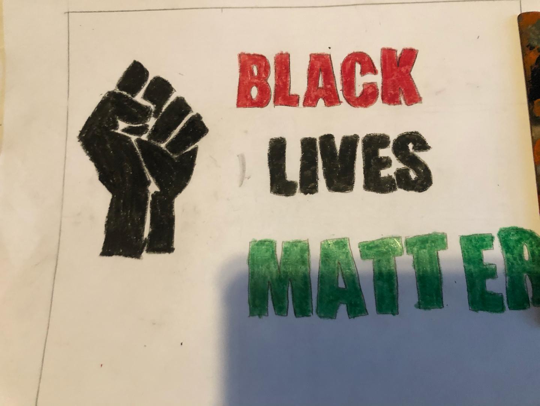 Black Lives Matter Poster 1