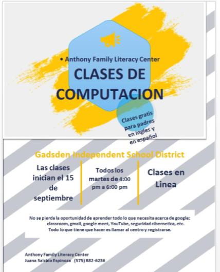 Computer Classes Spanish