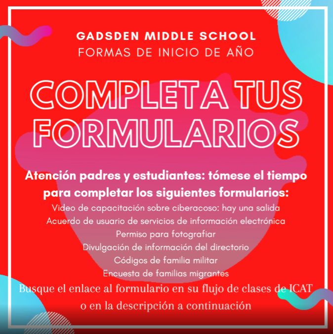 GMS Beg. Forms Image Spanish