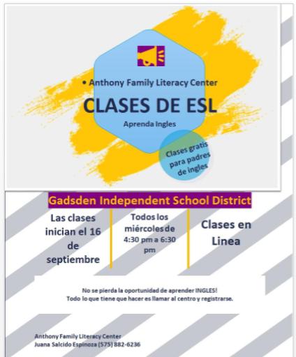ESL Classes Spanish