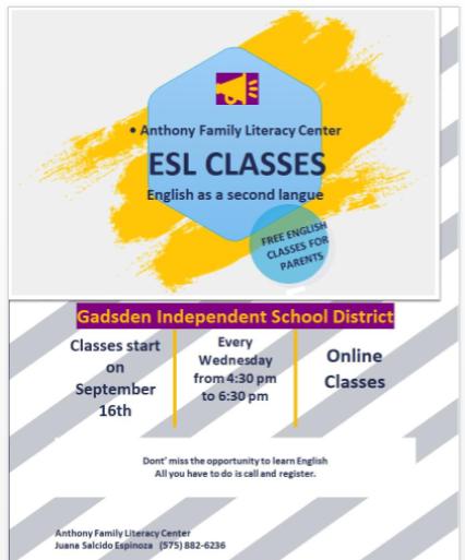 ESL Classes English