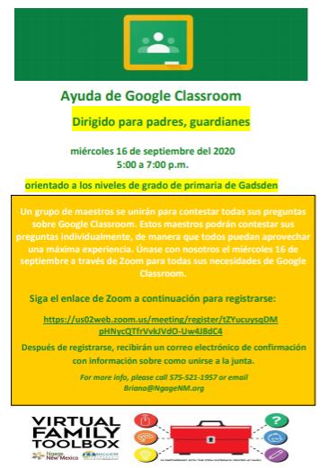 GC Help Spanish