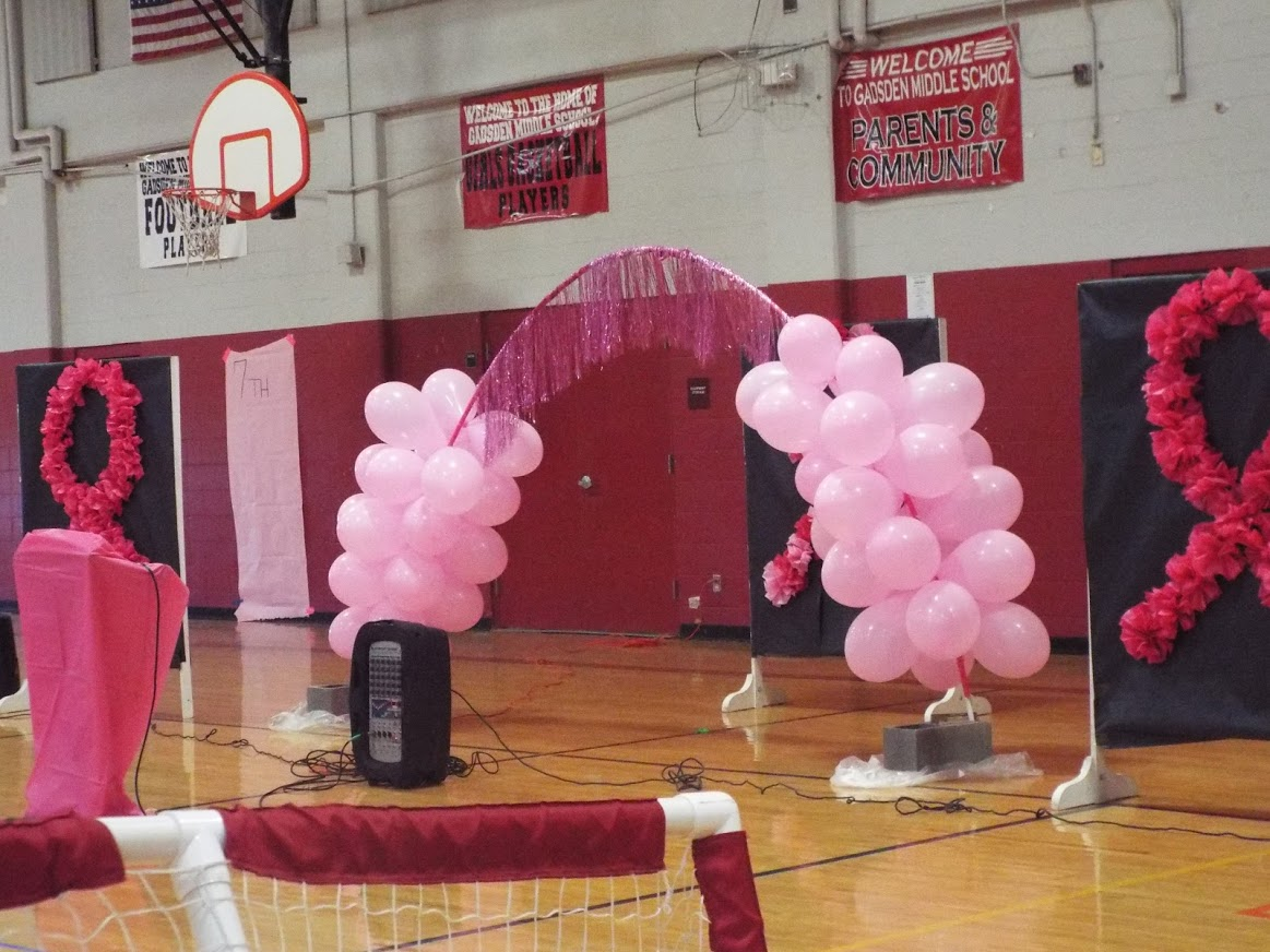 Gadsden Middle school pink week
