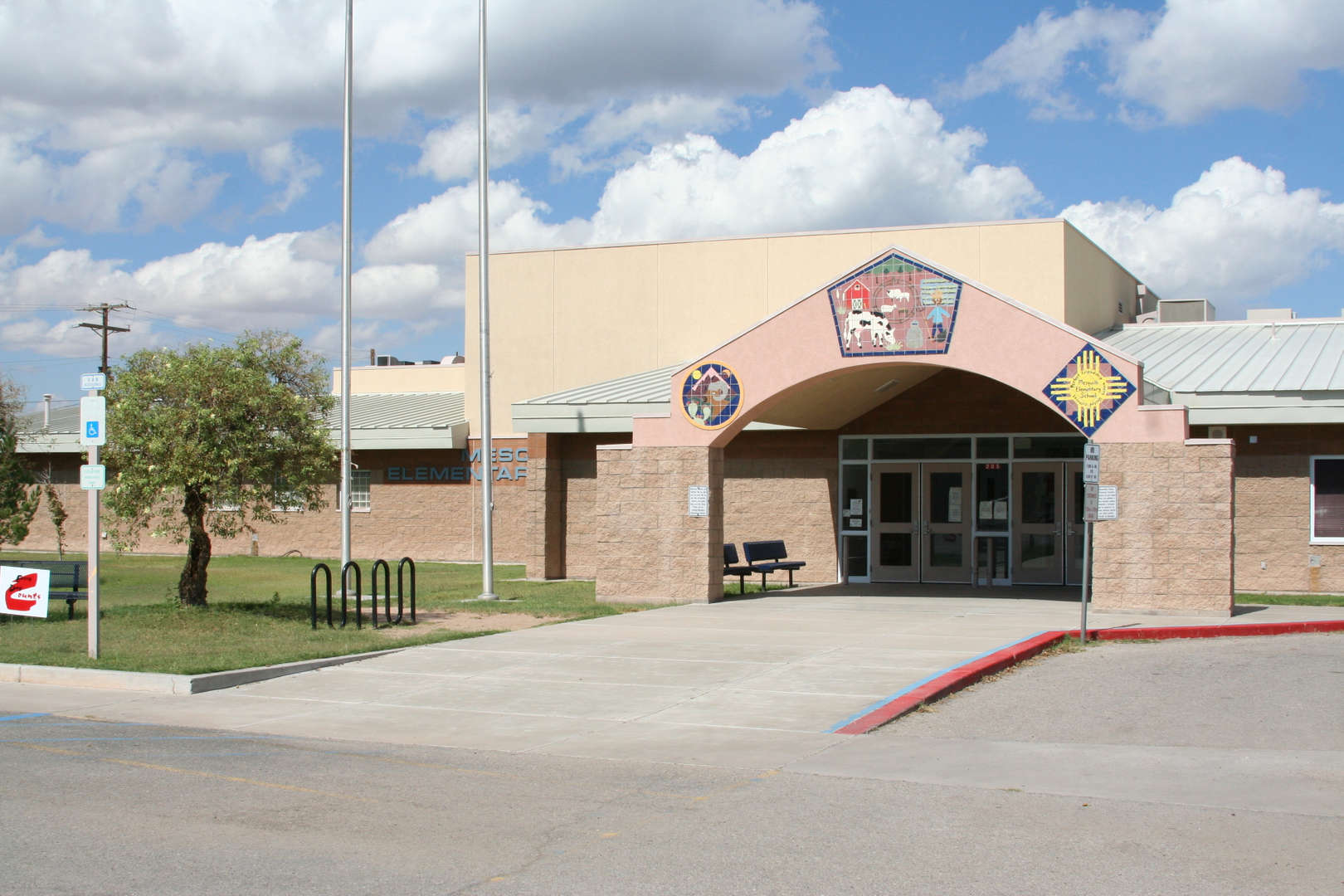 Mesquite Elementary School front fascade