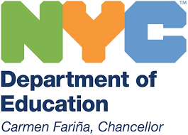 NYC Department of Education logo  Chancellor Farina