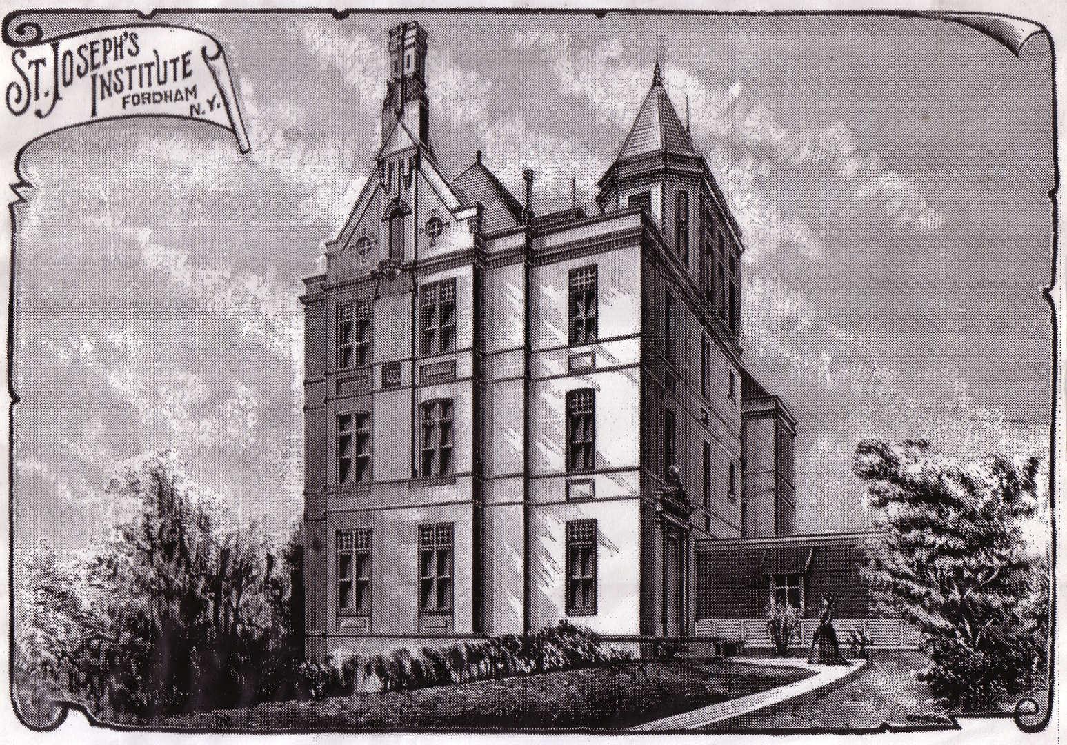 St. Joseph's former Fordham location
