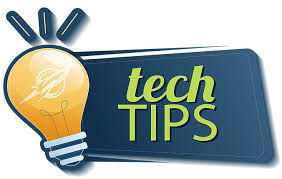 light bulb icon, tech tips
