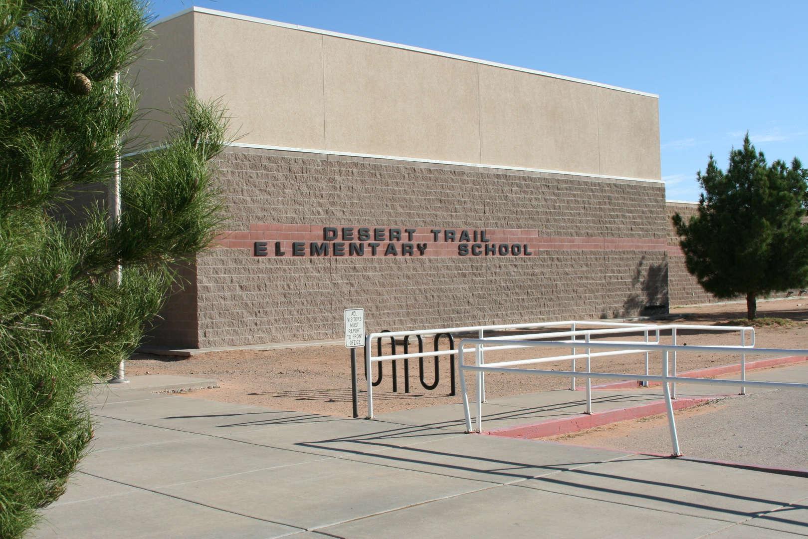 Desert Trail Elementary school front fascade img