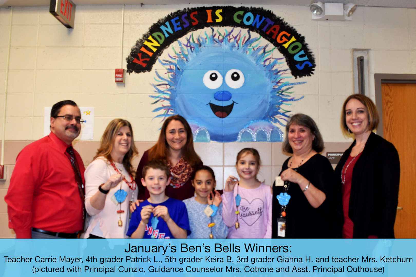 January's Ben's Bells Winners