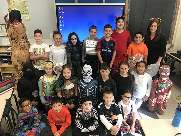 Halloween at Columbus Elementary School