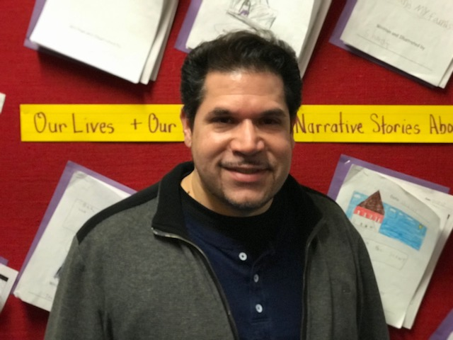This is a picture of Mr. Acevedo.