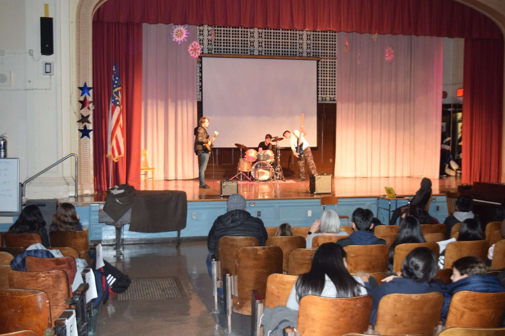 Academy holds its annual Talent Show at the beginning of the Spring Semester
