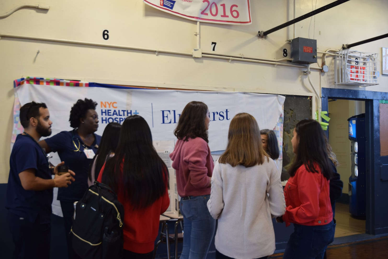 Academy students learn about career and future jobs during the Career Fair