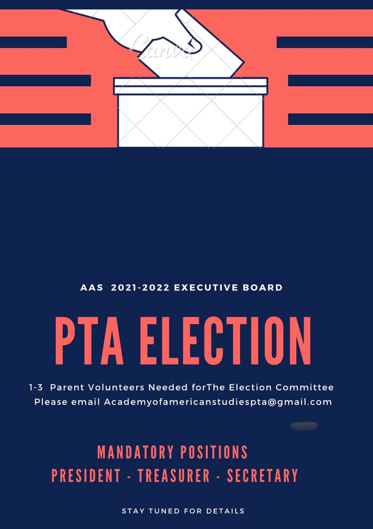 PTA ELECTIONS 2021