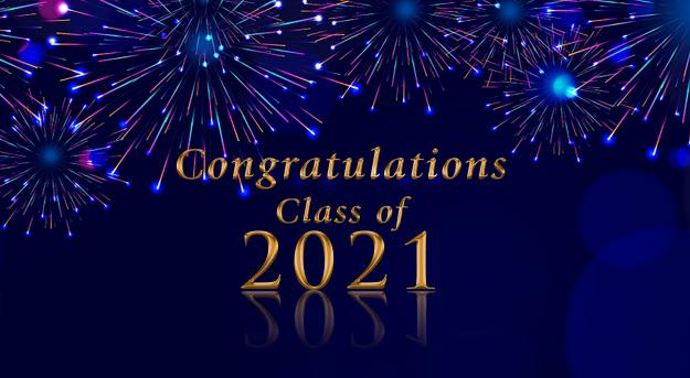 Congratulations Class of 2021 Clipart