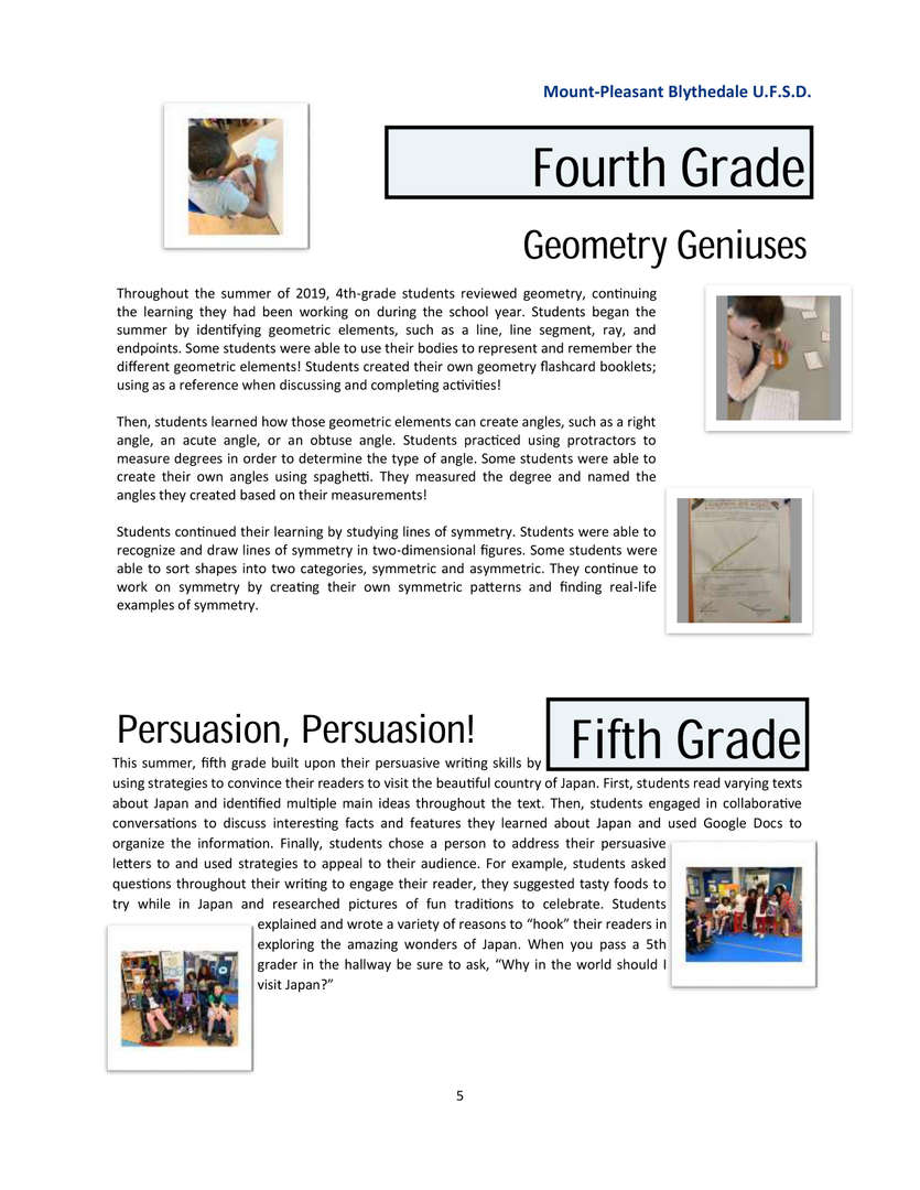 Newsletter page 5