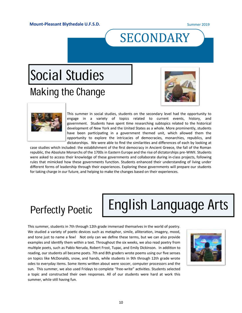 Newsletter page 10