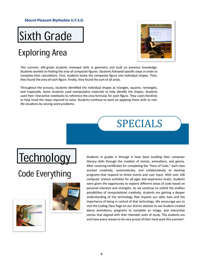 Newsletter page 8