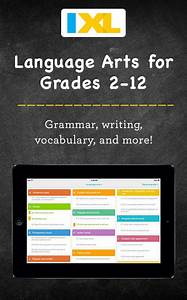 Clicking here will take you to I X L Language Arts.