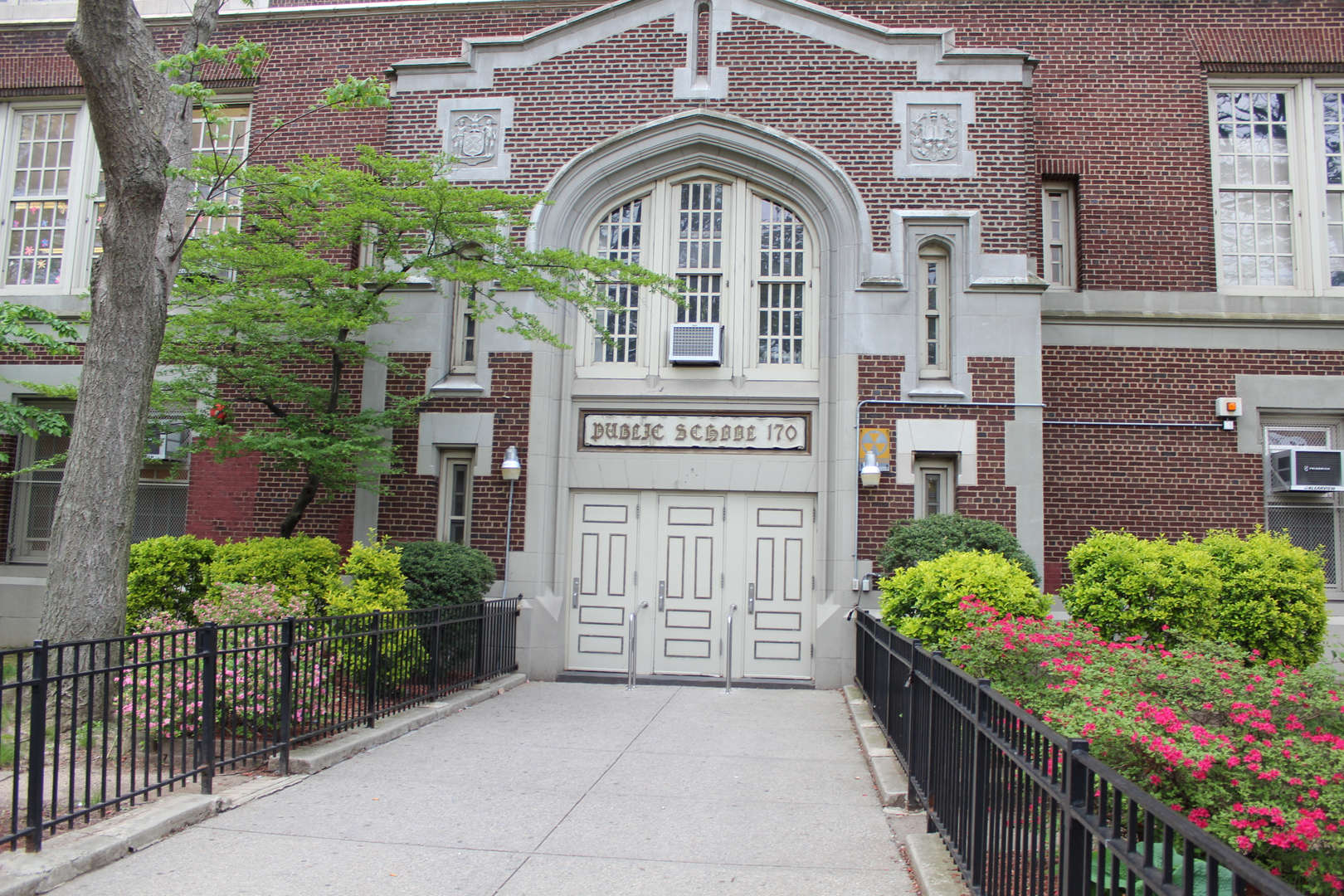 Old Main Entrance