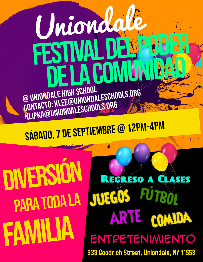 Power of Community Flyer_Spanish