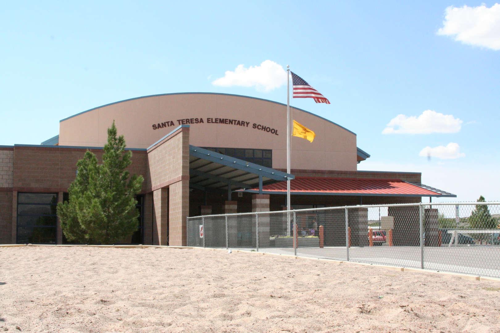Santa Teresa Elementary front fascade