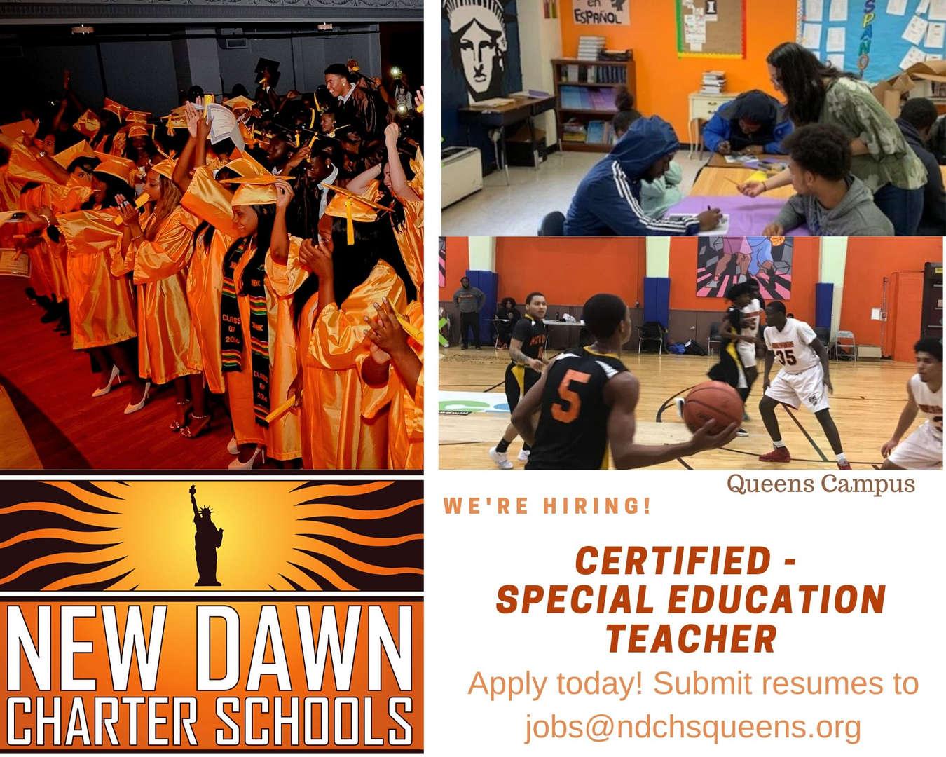 Certified - Special Education Teacher
