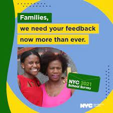 NYC DOE School survey flyer