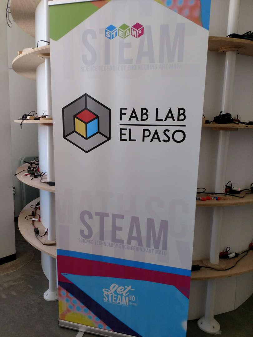 Banner Fab Lab El Paso