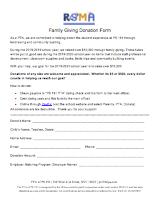 PTA Donation Form thumbnail