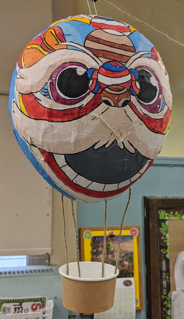 Class 5-8  Ms. Zhong: Tribal Hot Air Balloon