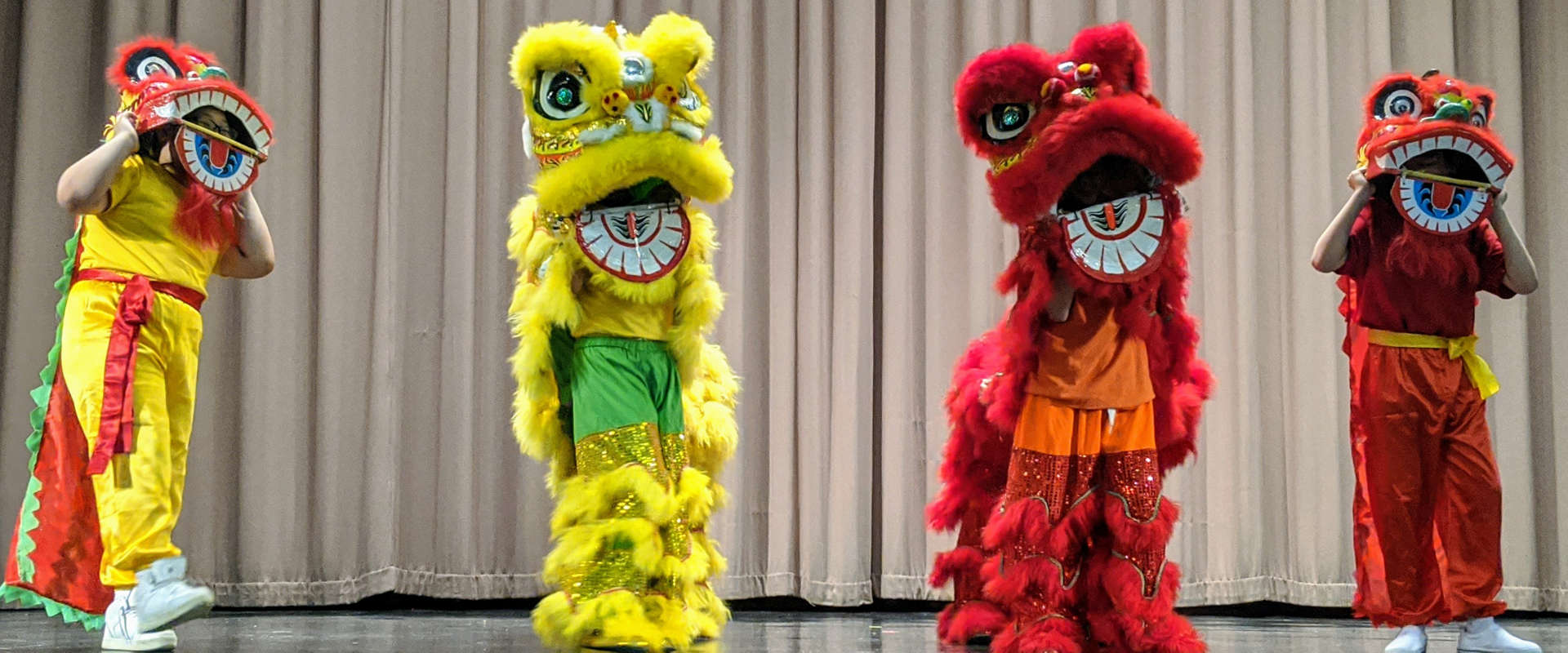 Chinese New Year mascots.