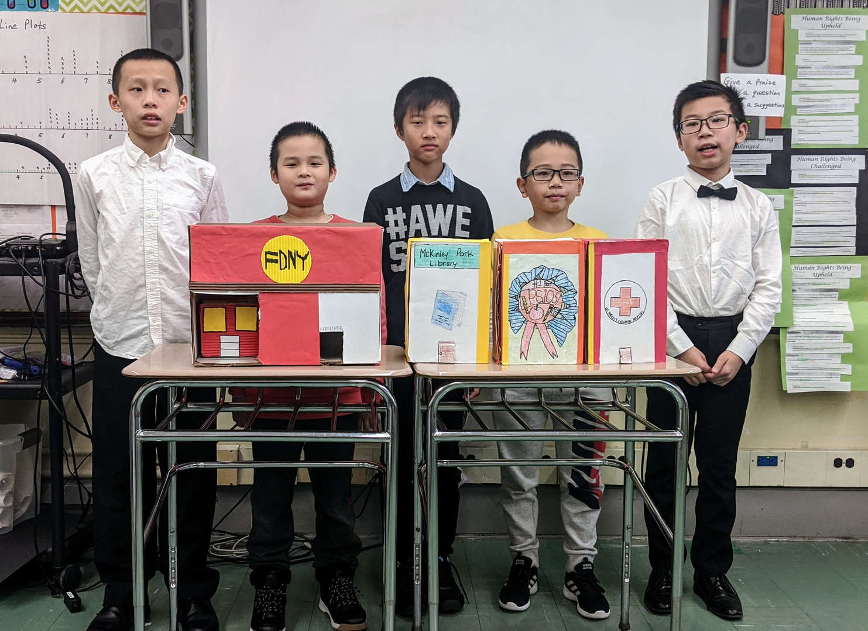 Class 5-6  Ms. Lam: Help Stop Hunger