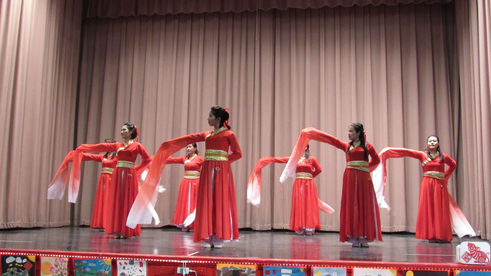 PS 105 PTA Chinese dance.