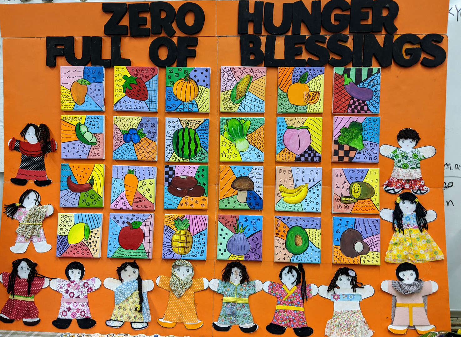 Class 5-7  Ms. Hsu: No one should be hungry. It is a basic human right.