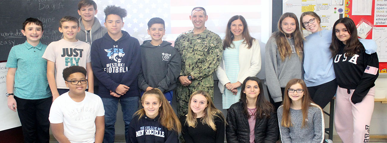 Capt. David Glass, USN, (husband of our very own Mrs. Glass) visited our school and shared his experiences in Afghanistan where he was deployed from 2009-2011.