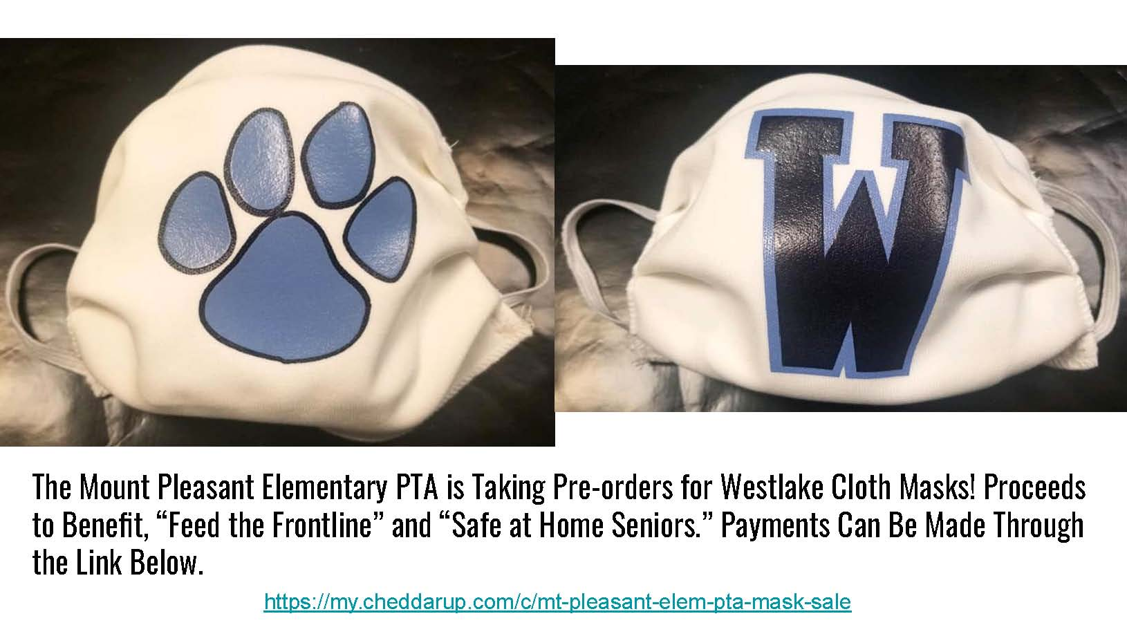 Styles of Westlake Masks.