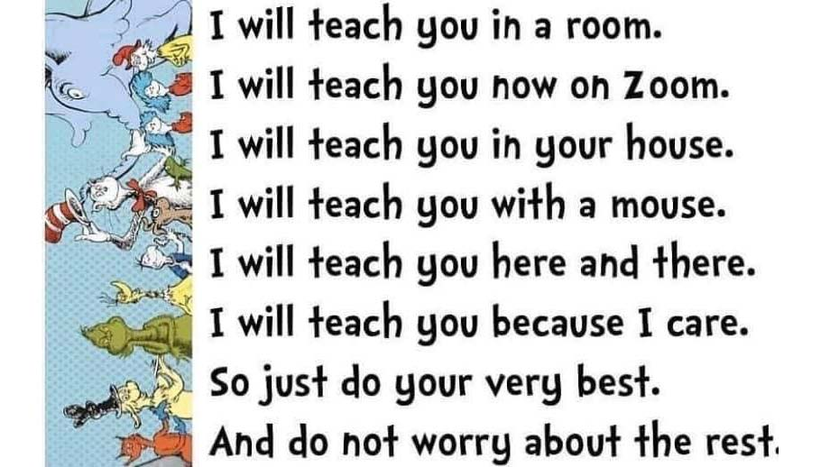 I Will Teach You