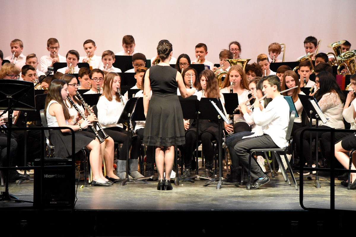 7th and 8th grade winter concert