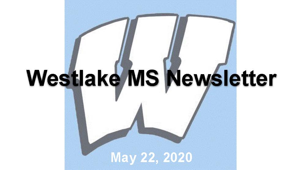 WMS Newsletter May 22, 2020