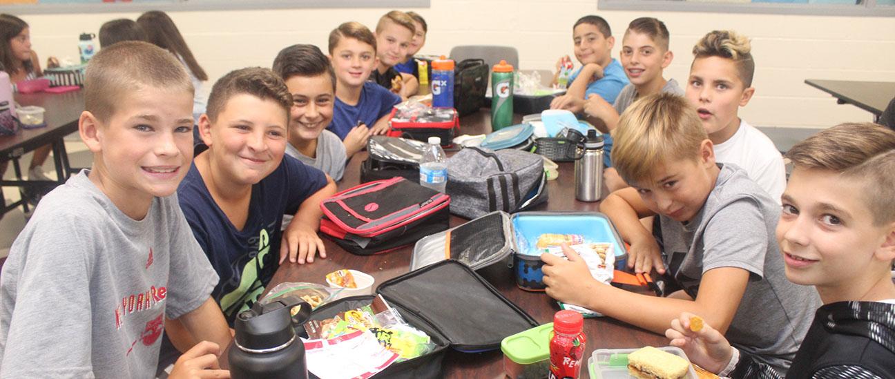 Sixth Grade Lunch