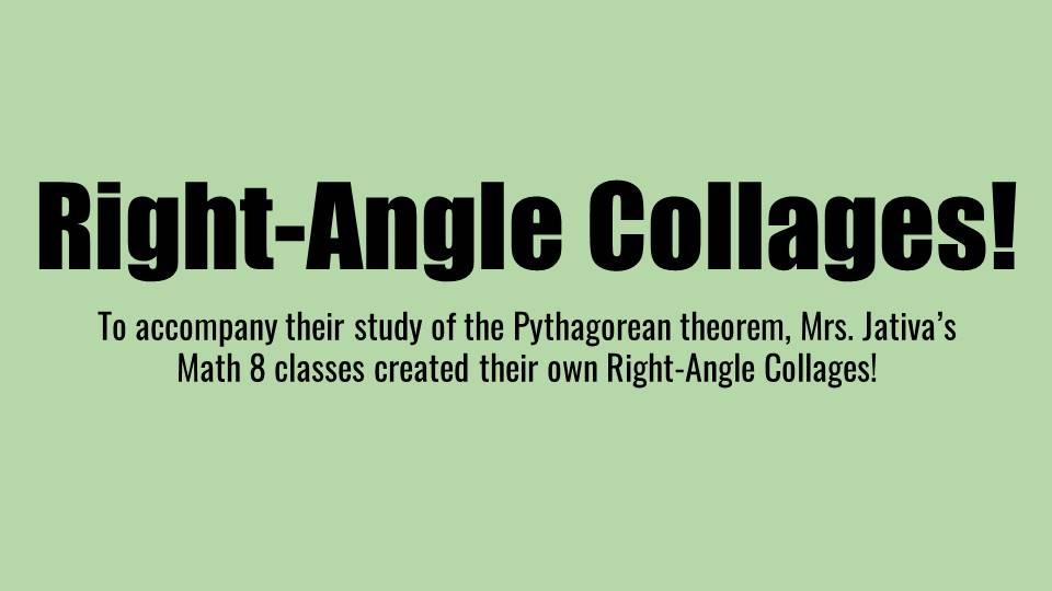 Right Angle Collages