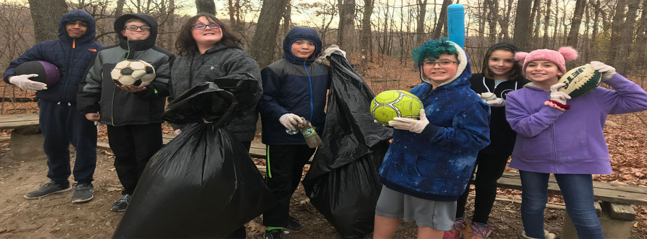 The Environment Club in action!