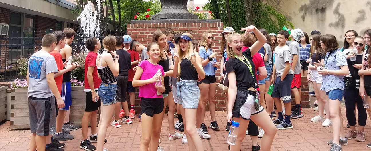 Seventh graders in Philadelphia.