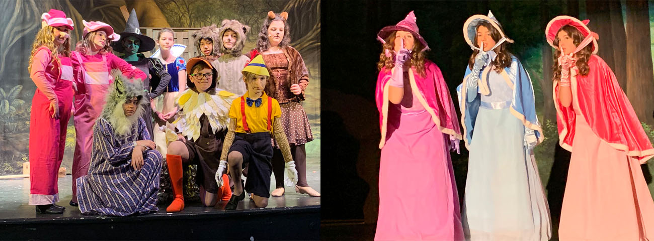 "Students perform in ""Shrek Jr."""