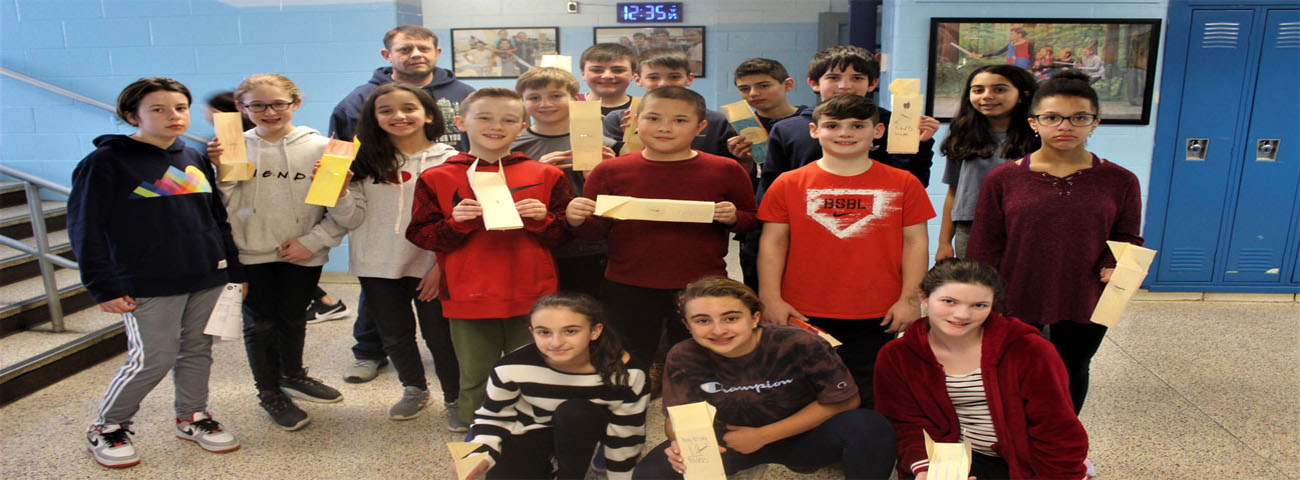 Mr. Perry's class had fun practicing precision measurement and technical drawing to create air skimming vehicles.